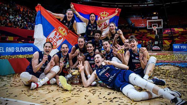 Srpske košarkašice - Sputnik Srbija