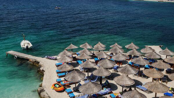Plaža Dures u Albaniji - Sputnik Srbija