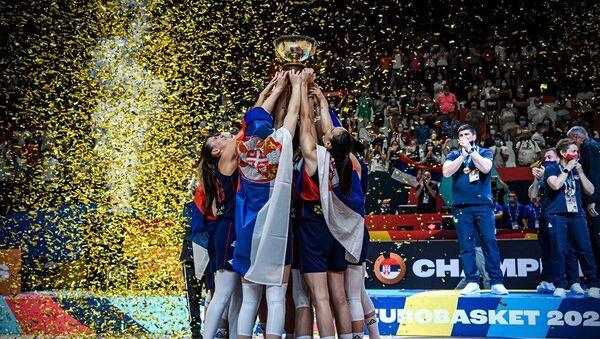 Košarkašice Srbije - Sputnik Srbija