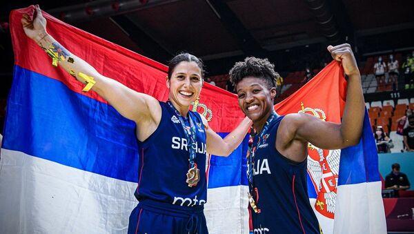 Ivon Anderson i Saša Čađo, reprezentativke Srbije - Sputnik Srbija