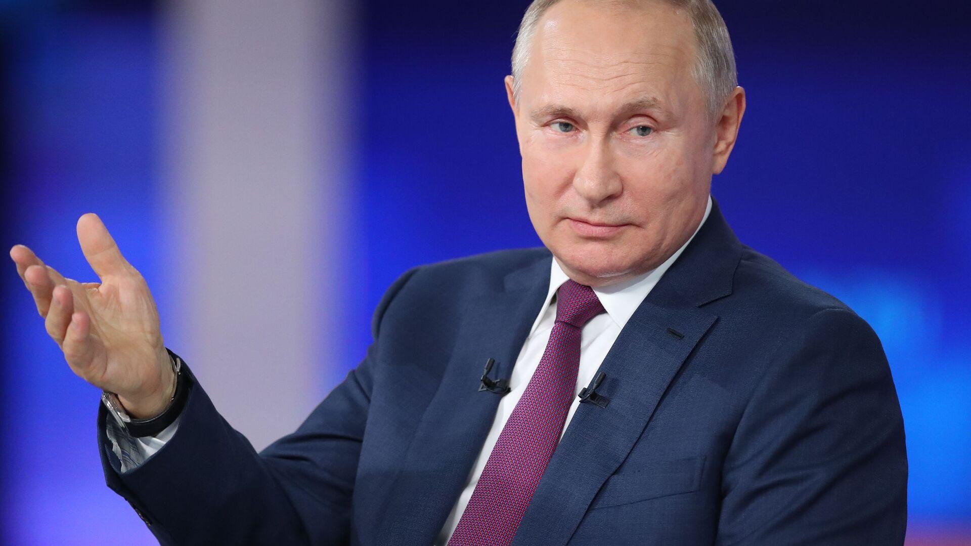 """""""Direktna linija"""" sa ruskim predsednikom Vladimirom Putinom - Sputnik Srbija, 1920, 06.08.2021"""