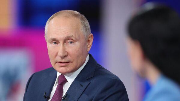 """""""Direktna linija"""" sa ruskim predsednikom Vladimirom Putinom - Sputnik Srbija"""