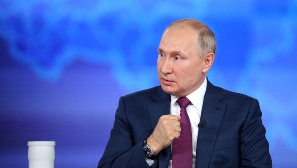 """""""Директна линија"""" са руским председником Владимиром Путином - Sputnik Србија"""