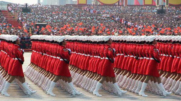 Proslava u Pekingu povodom obeležavanja 70 godina od osnivanja NR Kine  - Sputnik Srbija