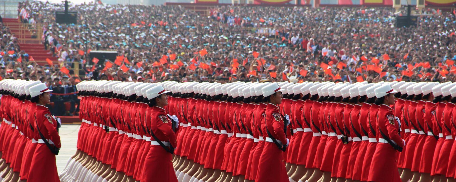 Proslava u Pekingu povodom obeležavanja 70 godina od osnivanja NR Kine  - Sputnik Srbija, 1920, 23.07.2021