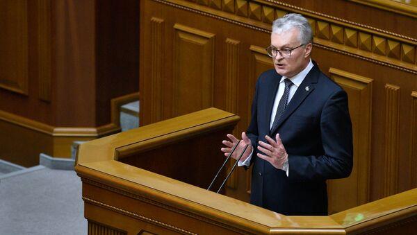 Председник Литваније Гитанас Науседа - Sputnik Србија