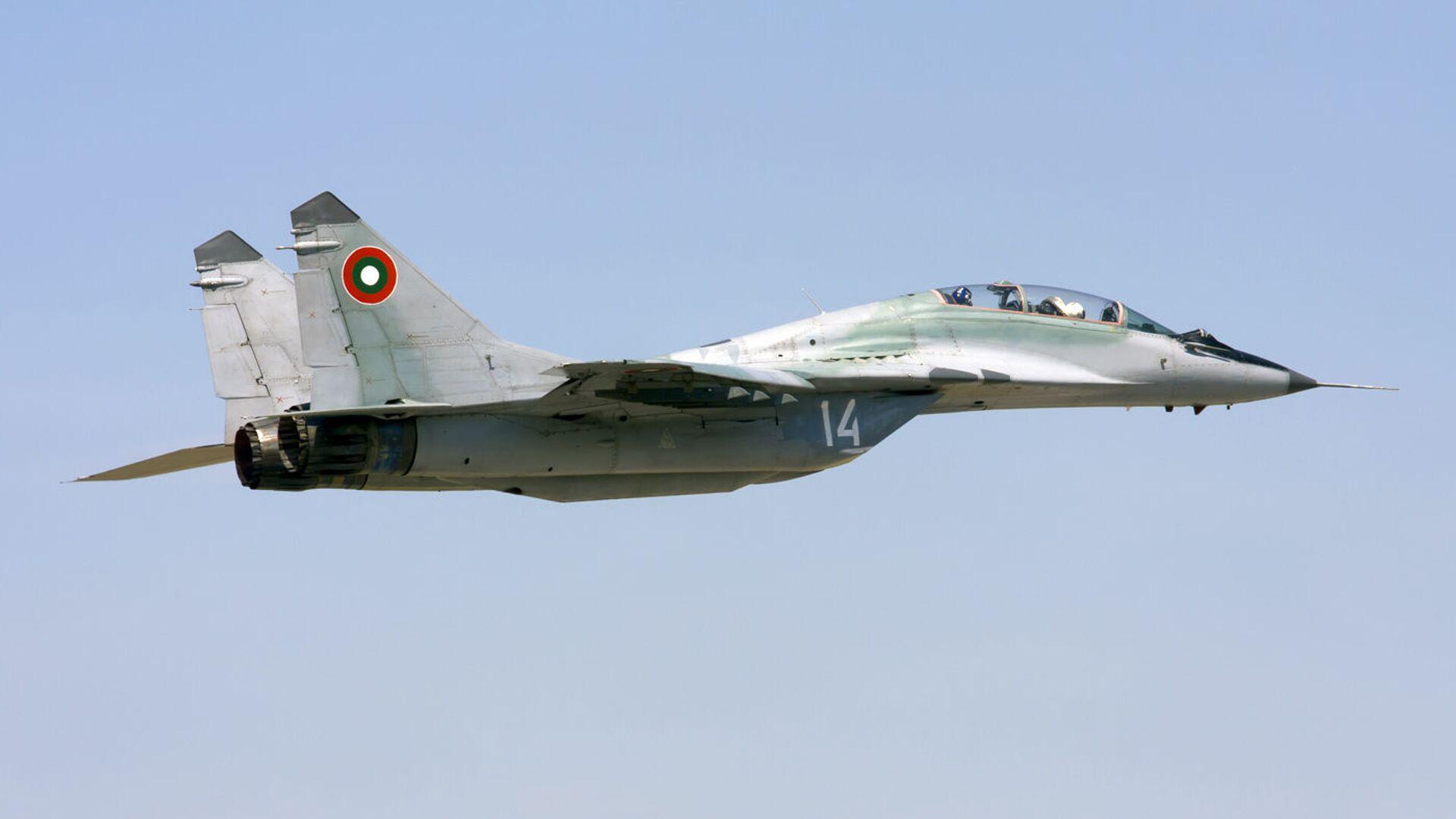 Ловац МиГ-29 бугарског ратног ваздухопловства - Sputnik Србија, 1920, 18.08.2021