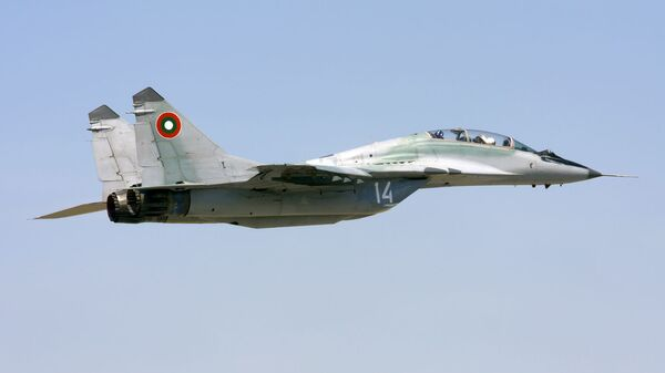 Lovac MiG-29 bugarskog ratnog vazduhoplovstva - Sputnik Srbija