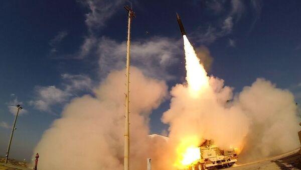 Тестирања противракетног система Хец-3 (Стрела-3) у Израелу - Sputnik Србија