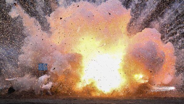 Eksplozija pirotehničkih sredstava - Sputnik Srbija