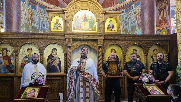Ruske ikone stigle na srpsku svetu zemlju - Sputnik Srbija