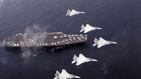 Војне вежбе Јапана и САД - Sputnik Србија