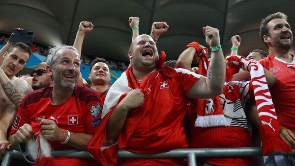 Navijači Švajcarske – EURO 2020 - Sputnik Srbija