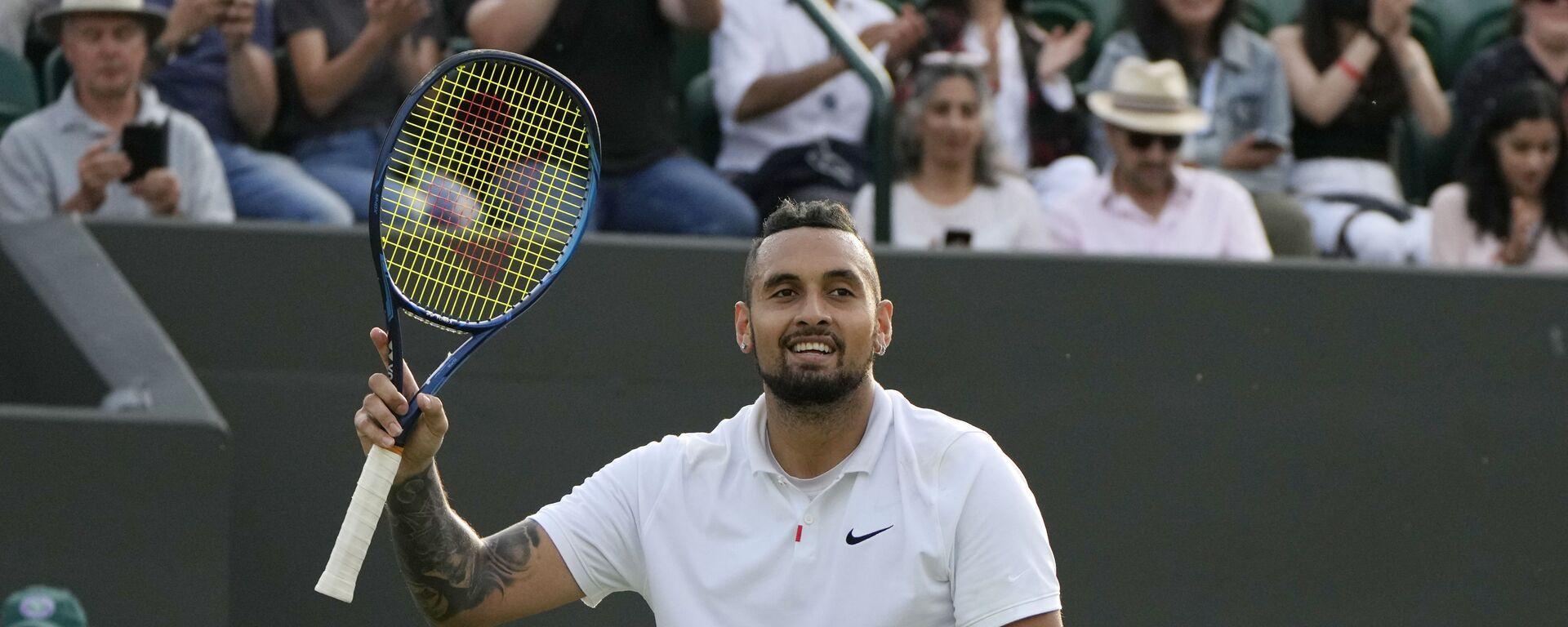 Nik Kirjos, australijski teniser - Sputnik Srbija, 1920, 03.07.2021