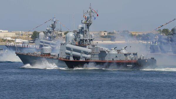 Ruski raketni čamac Ivanovec - Sputnik Srbija