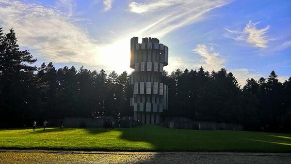 Споменик посвећен Битки на Козари - Sputnik Србија