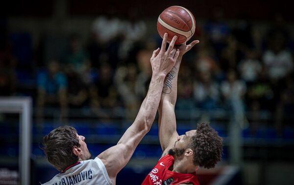 Детаљ са меча Србија - Порторико - Sputnik Србија