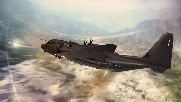 Војни транспортни авион Ц-130Ј-СОФ супер Херкул - Sputnik Србија