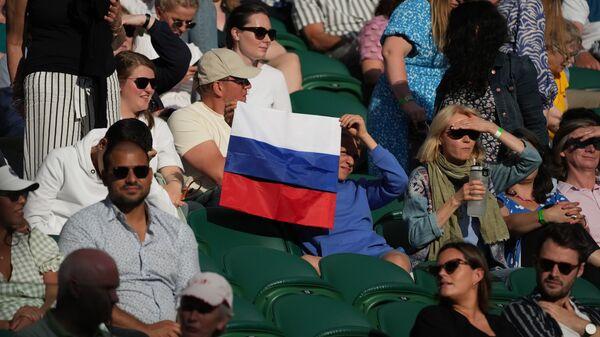 Руски навијачи на Вимблдону - Sputnik Србија