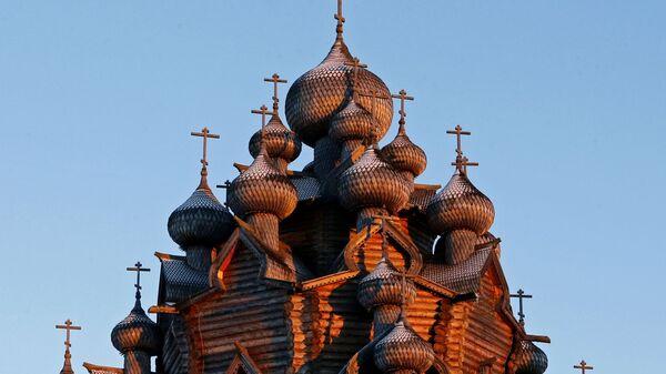 Покровска црква у Лењинградској области - Sputnik Србија