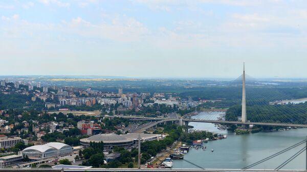 Pogled na prestonicu Srbije sa kule Beograd - Sputnik Srbija