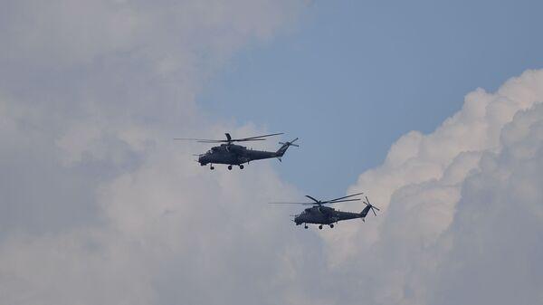 Налет хеликоптера Ми-35 - Sputnik Србија