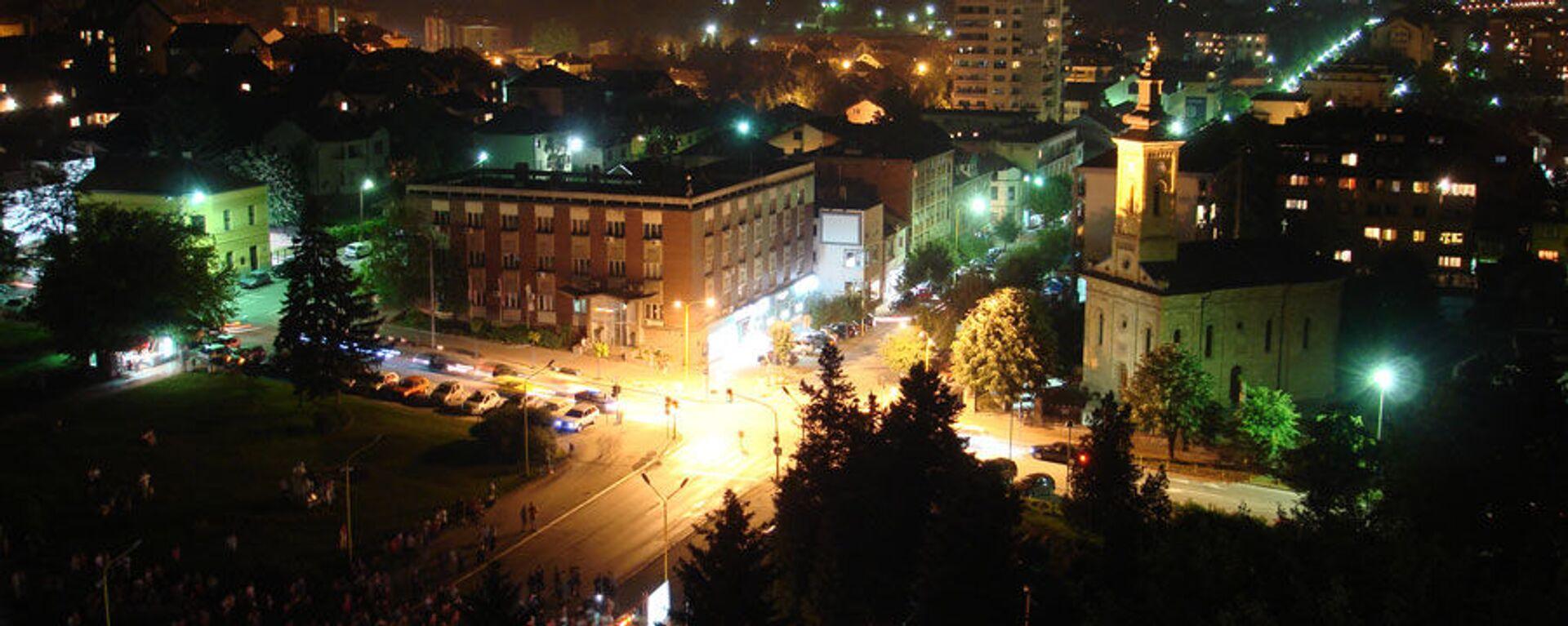 Gornji Milanovac noću - Sputnik Srbija, 1920, 05.07.2021