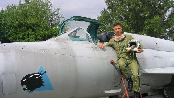 Saša Oluić, pilot MiG-a 21 - Sputnik Srbija
