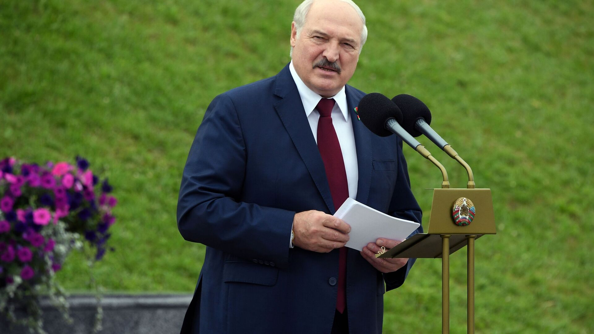 Председник Белорусије Александар Лукашенко - Sputnik Србија, 1920, 15.08.2021