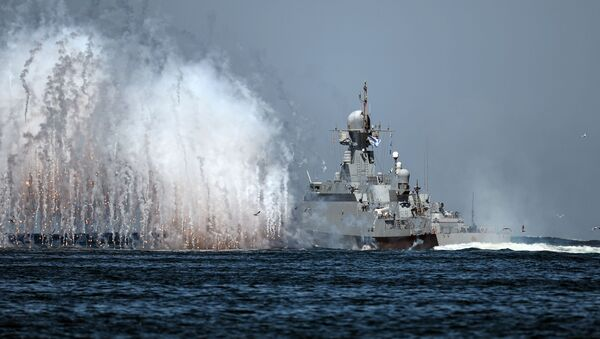 Брод Црноморске флоте Русије - Sputnik Србија
