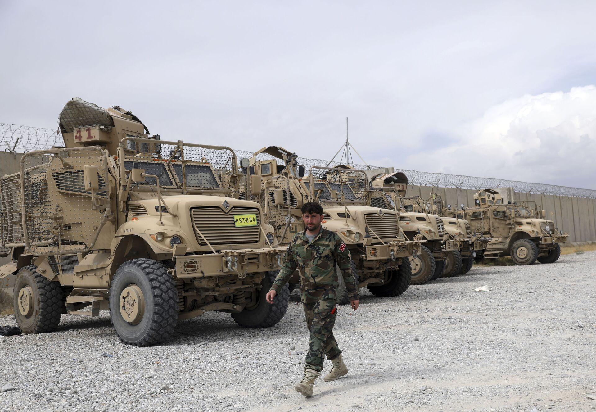 Avganistanska vojska je danas pokazala unutrašnjost vazduhoplovne baze Bagram - Sputnik Srbija, 1920, 13.07.2021