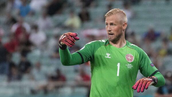 Kasper Šmajhel, golman danske fudbalske reprezentacije - Sputnik Srbija