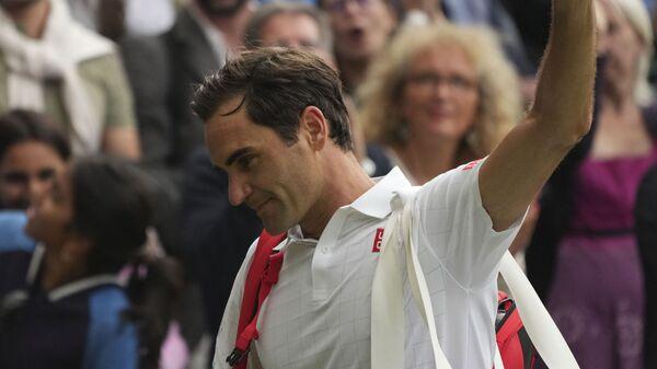 Švajcarski teniser Rodžer Federer  - Sputnik Srbija