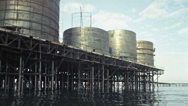 Каспијско језеро, нафта - Sputnik Србија