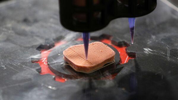 Vegeterijansko meso iz 3D štampača - Sputnik Srbija