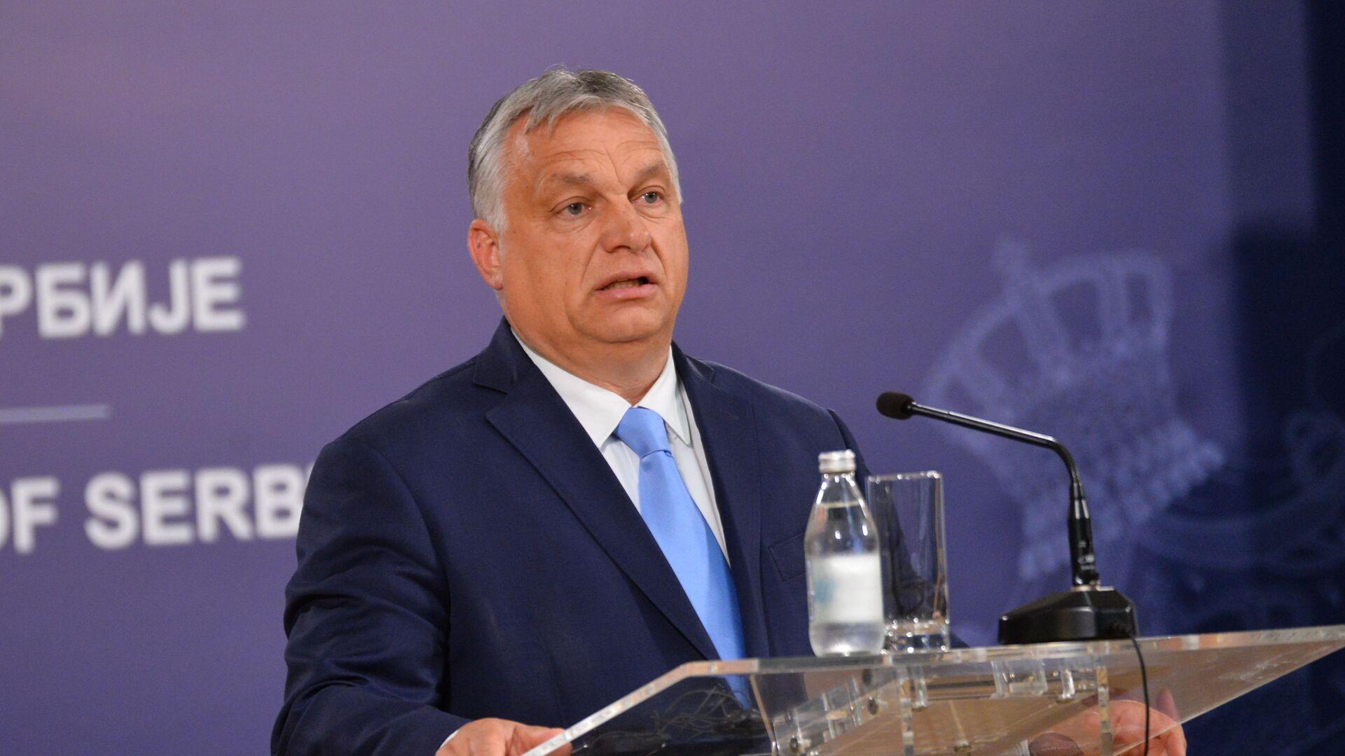Мађарски премијер Виктор Орбан - Sputnik Србија, 1920, 22.09.2021