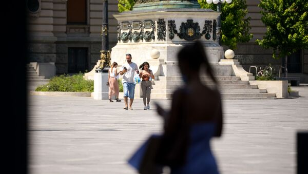 Beograd po toplom danu - Sputnik Srbija
