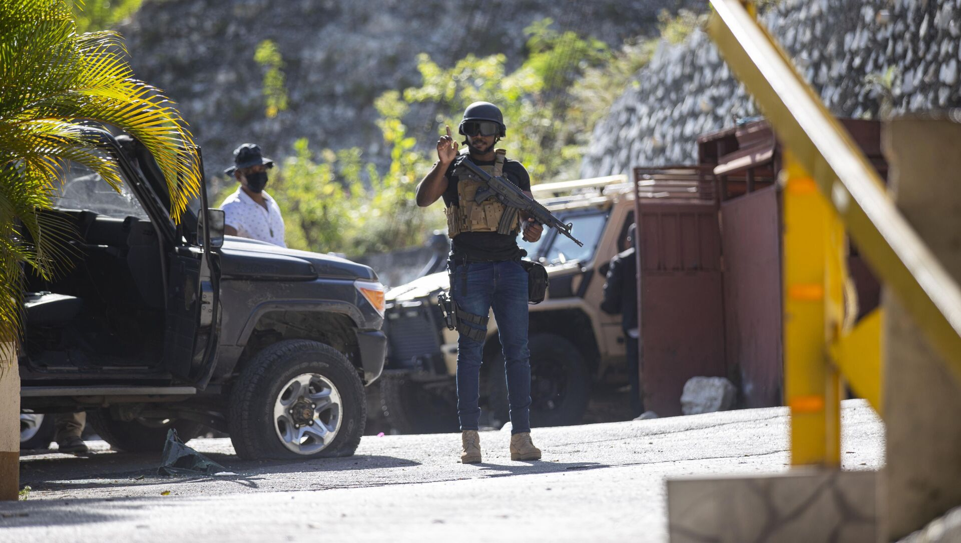 Хаићанска полиција истражује напад на резиденцију председника Хаитија - Sputnik Србија, 1920, 08.07.2021