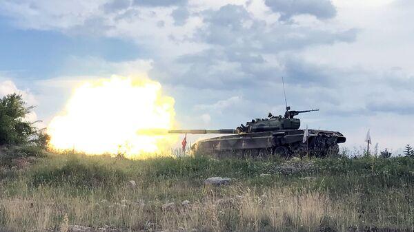 Tenkovi Vojske Srbije na Pasuljanskim livadama - Sputnik Srbija