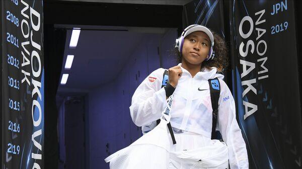 Japanska teniserka Naomi Osaka tokom Australijan opena 2020. - Sputnik Srbija