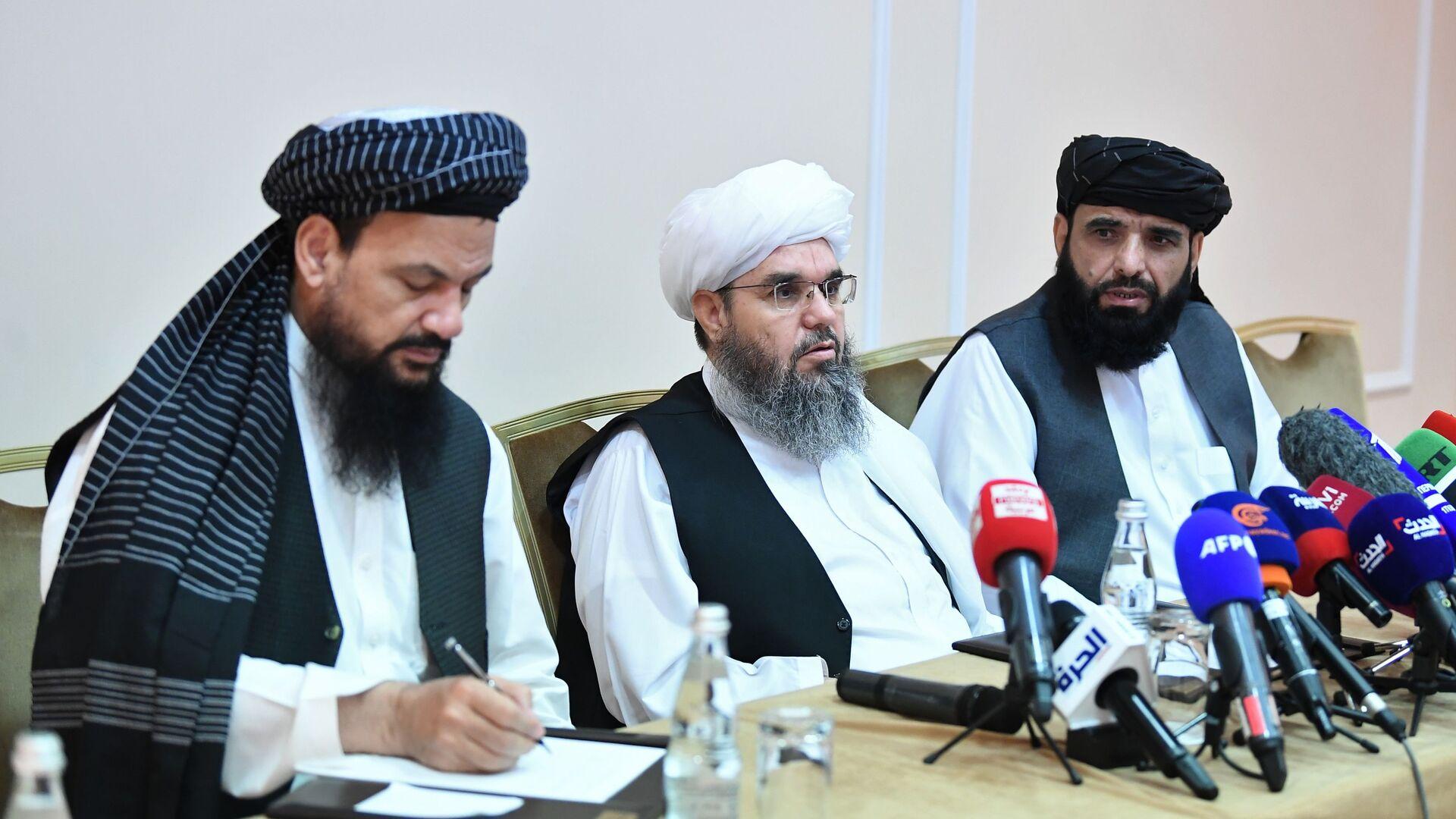 Талибани: Контролишемо већи део територије Авганистана - Sputnik Србија, 1920, 09.07.2021
