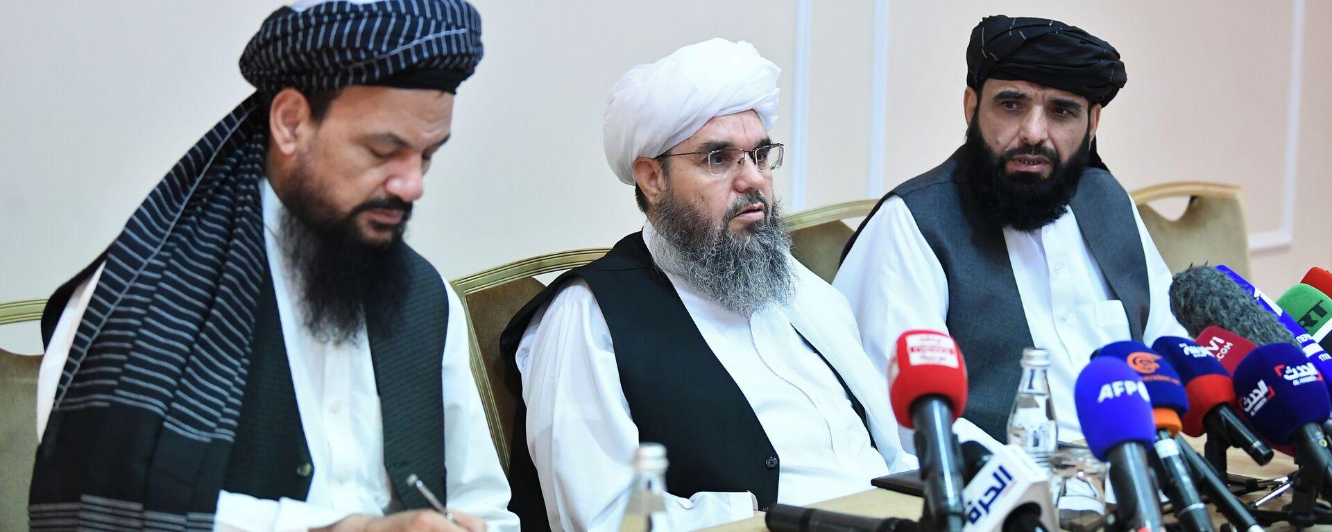 Талибани: Контролишемо већи део територије Авганистана - Sputnik Србија, 1920, 17.08.2021