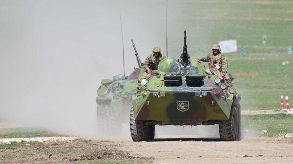 Rusko-tadžikistanske vojne vežbe u Tadžikistanu - Sputnik Srbija
