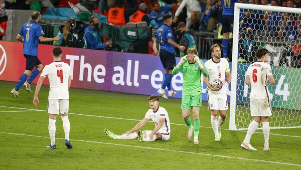 Детаљ са утакмице Италија – Енглеска - Sputnik Србија