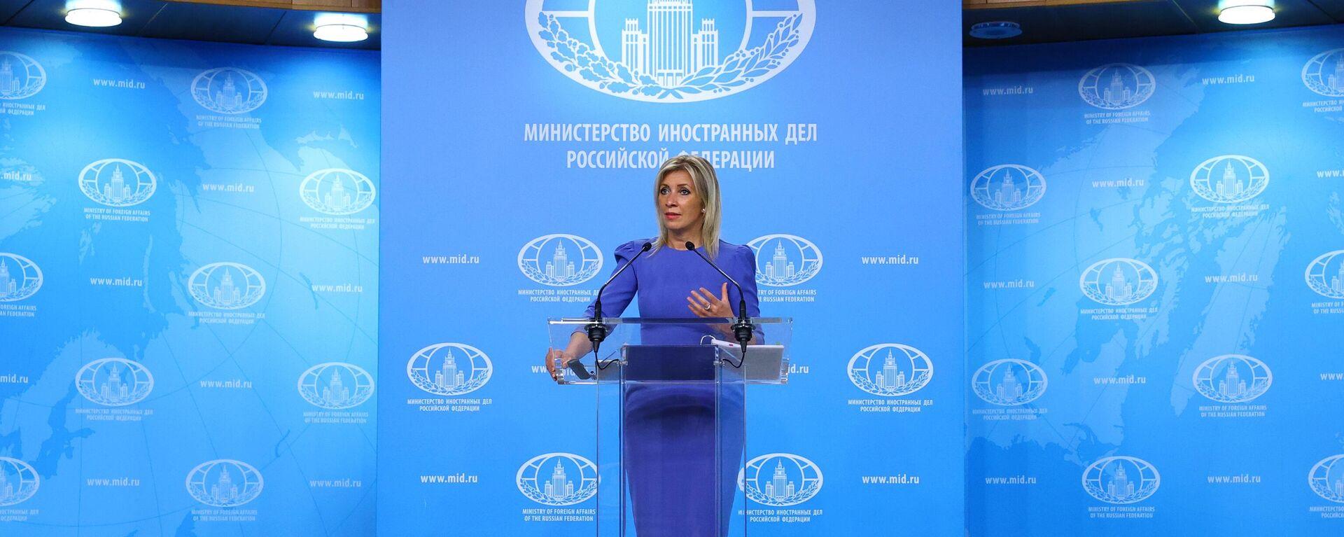 Marija Zaharova - portparolka Ministarstva spoljnih poslova Rusije - Sputnik Srbija, 1920, 23.07.2021