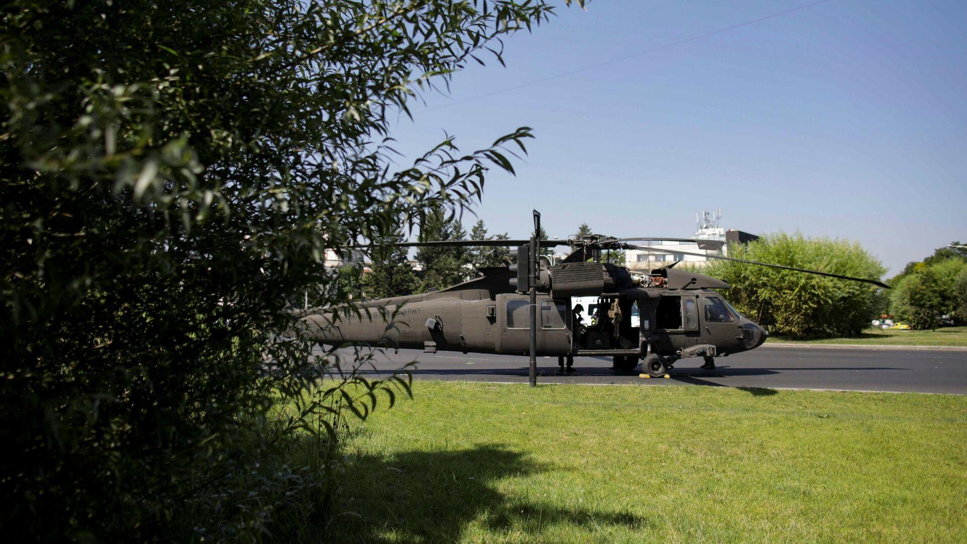 Američki vojni helikopter prinudno sleteo u centru Bukurešta - Sputnik Srbija, 1920, 15.07.2021