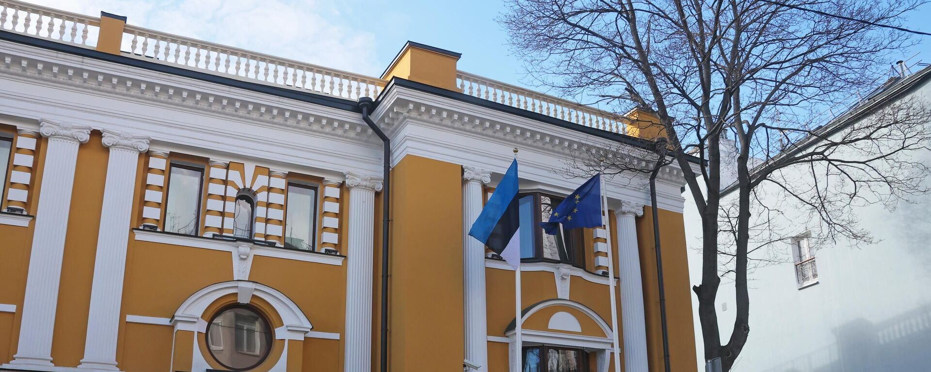 Зграда естонске амбасаде у Москви - Sputnik Србија, 1920, 03.08.2021