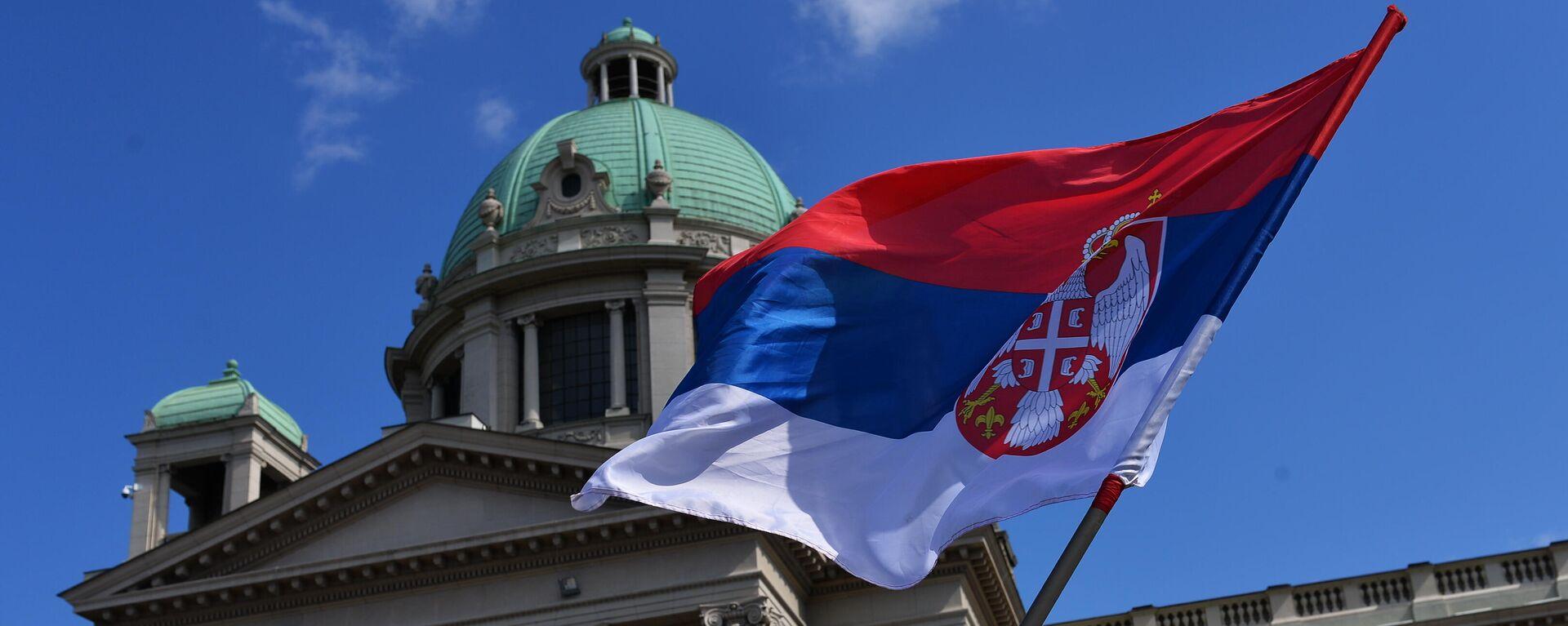 Zastava Srbije - Sputnik Srbija, 1920, 08.09.2021