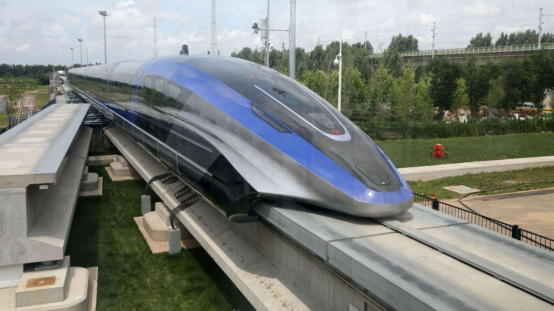 Кинески нови брзи воз достиже брзину од 600 километара на сат - Sputnik Србија, 1920, 20.07.2021
