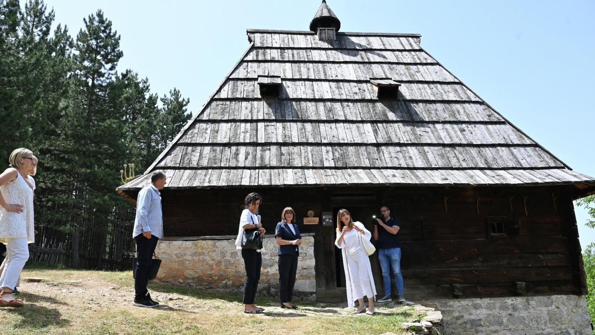 Музеј на отвореном Старо село у Сирогојну. - Sputnik Србија, 1920, 22.07.2021